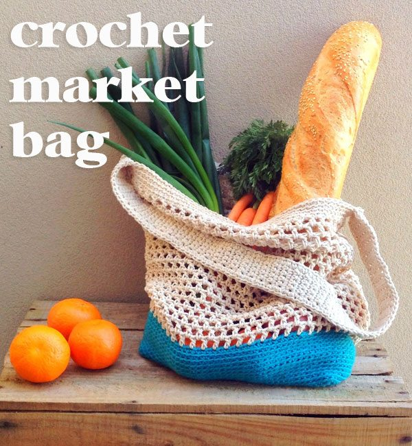 Free Crochet Market Bag Pattern : Link Love for Best Crochet Patterns, Ideas and News