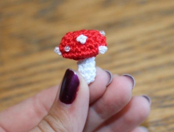crochet mushroom pattern