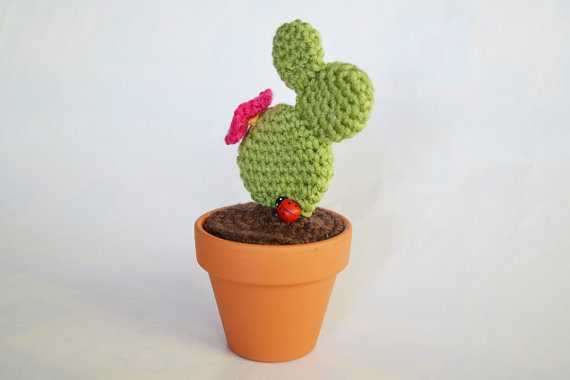 crochet prickly pear cactus