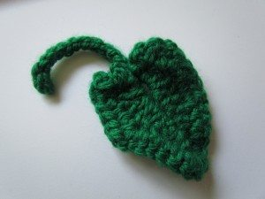 crochet pumpkin leaf free pattern
