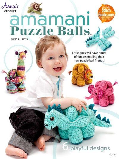 crochet puzzle balls