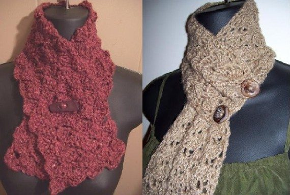 crochet scarflette pattern 20 Excellent Crochet Patterns and Examples on Etsy
