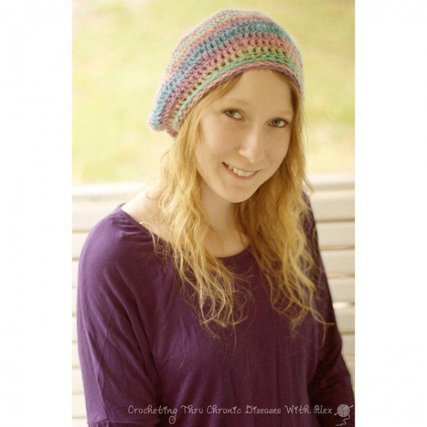 crochetinghtruchronicdiseases crochet hat