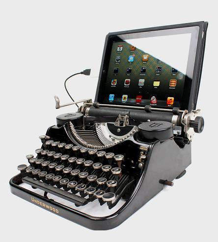 diy typewriter