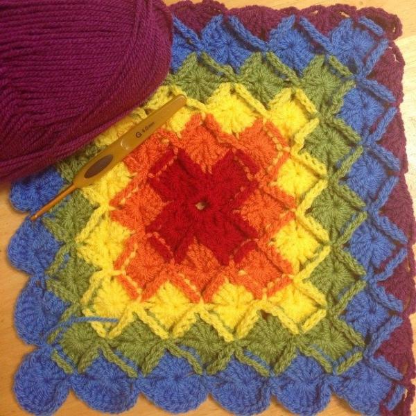 e.mireles instagram rainbow crochet bavarian wooleater