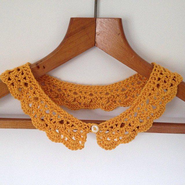 gooseberryfool instagram crochet collar