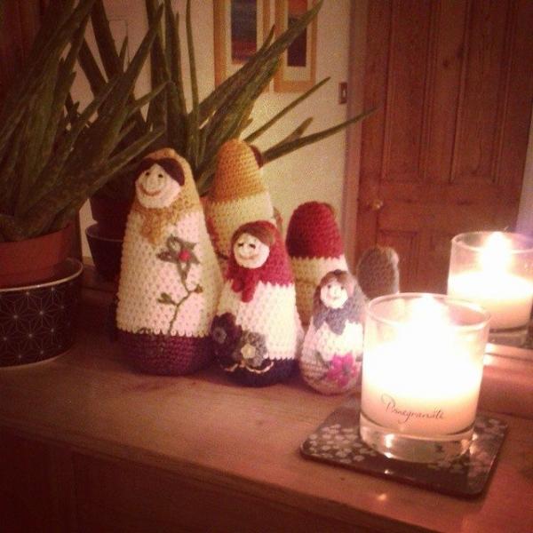 hanrosieg instagram crochet babushka dolls