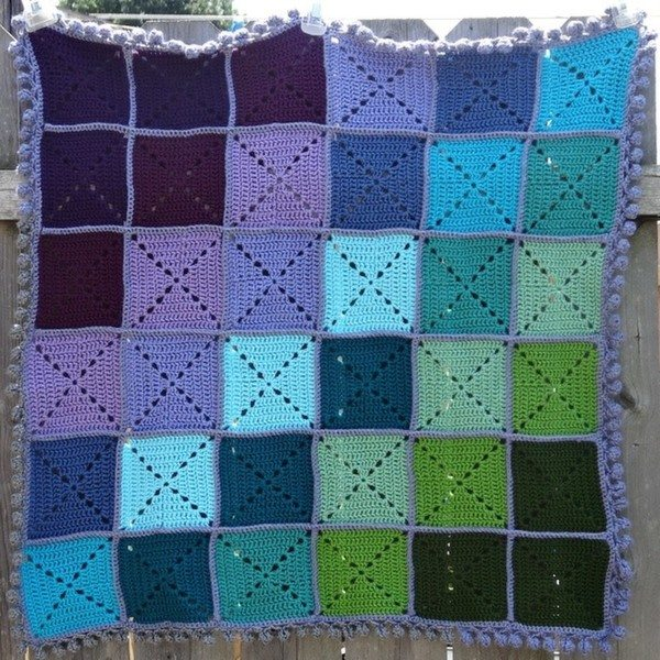 Crochet Quilt Squares : crochet hat and blankets by hjjolly1976