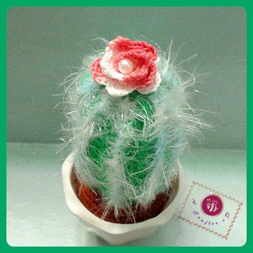 icy crochet cactus