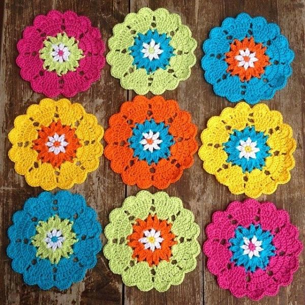 joycelovecrochet instagram crochet flowers