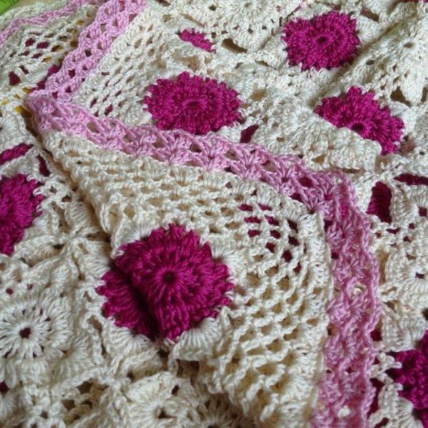joycelovescrochet instagram crochet blanket edging