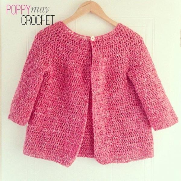 poppymaycrochet instagram 3 crochet cardigan