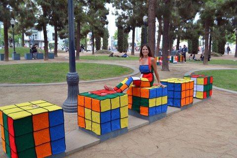 uncinetto cubo di Rubik