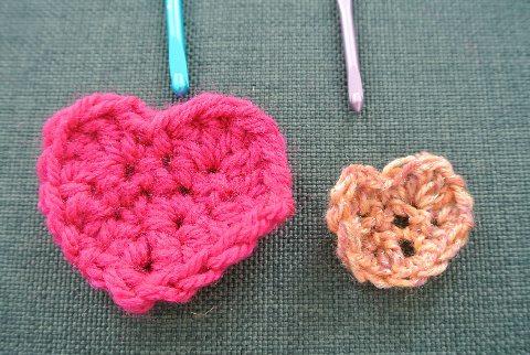 smaller heart