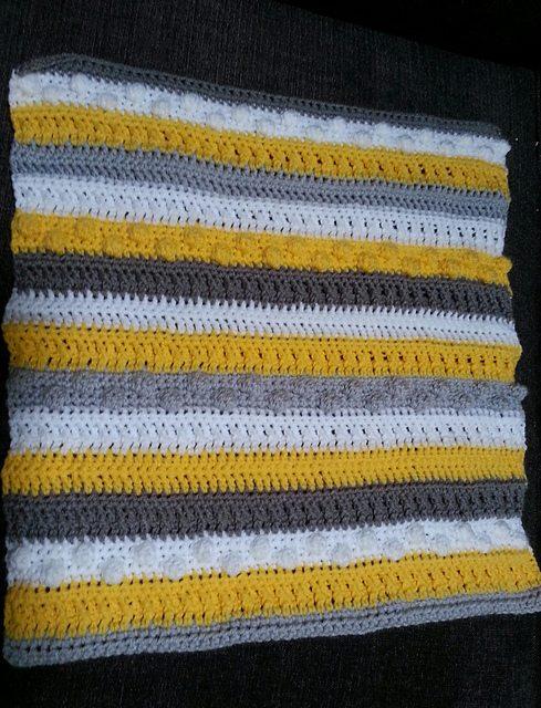 geweven gehaakte deken Patroon