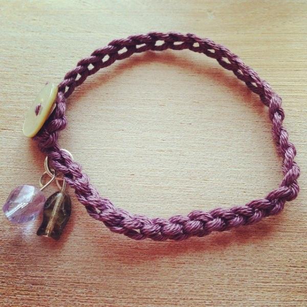 thedorsetfinca crochet bracelet