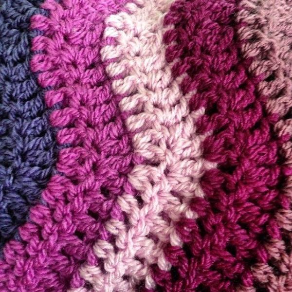 thedorsetfinca crochet ripple
