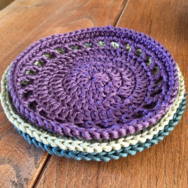 thedorsetfinca instagram crochet coasters