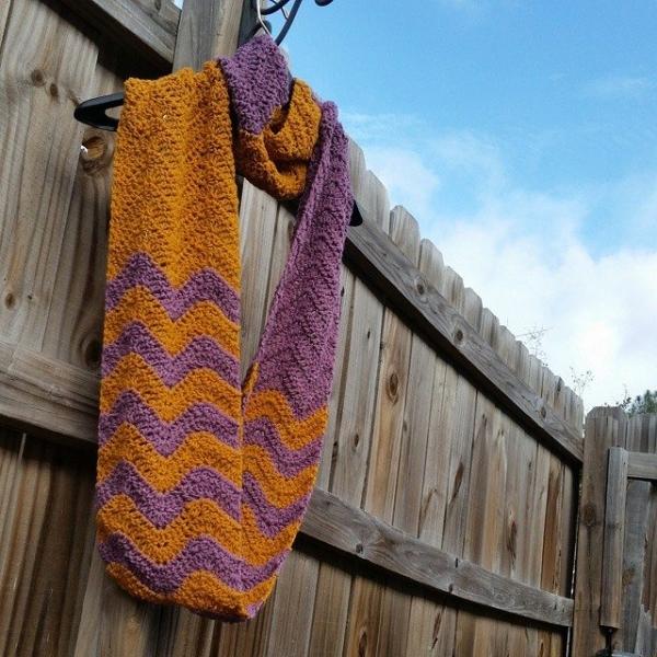 valerieburns crochet scarf