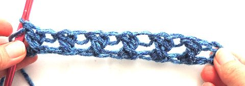xdc crochet stitch