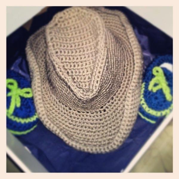 above_rubys crochet cowboy hat