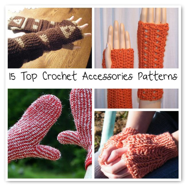 best crochet accessories patterns