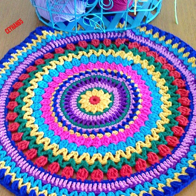 ceyhan65 crochet mandala