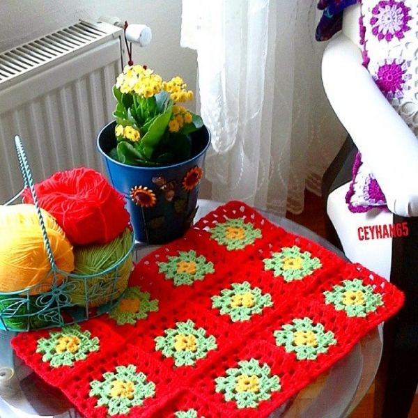 ceyhan65 crochet squares at home