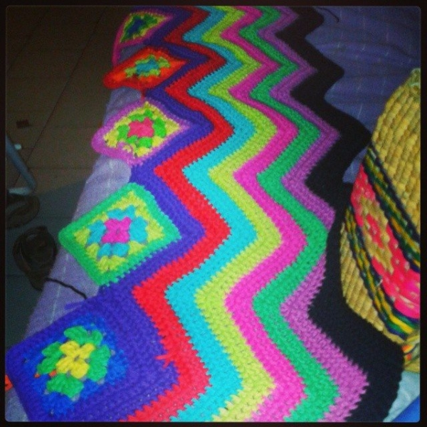 colomotera crochet colors blanket