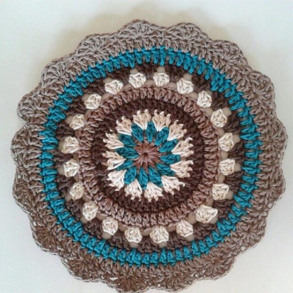corazonalsol crochet mandala