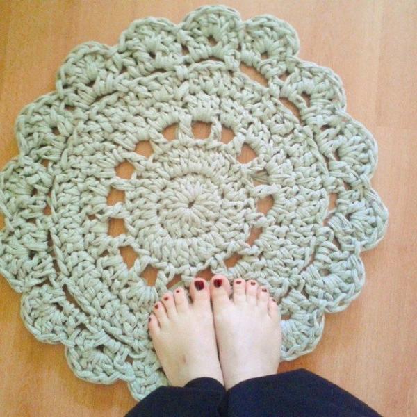 corazonalsol crochet meditation rug