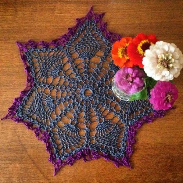 cozamundo crochet doily