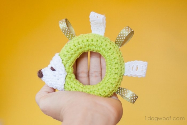 crochet baby toy pattern