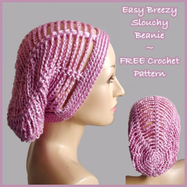 Free Crochet Hat Patterns To Download : Pics Photos - Free Download Crochet Slouchy Hat Patterns ...