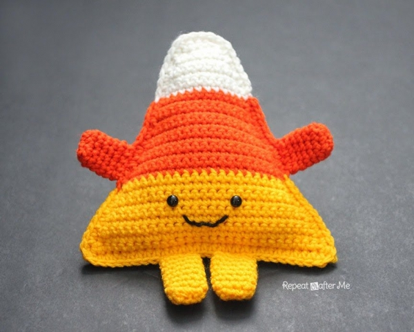 crochet candy corn pattern