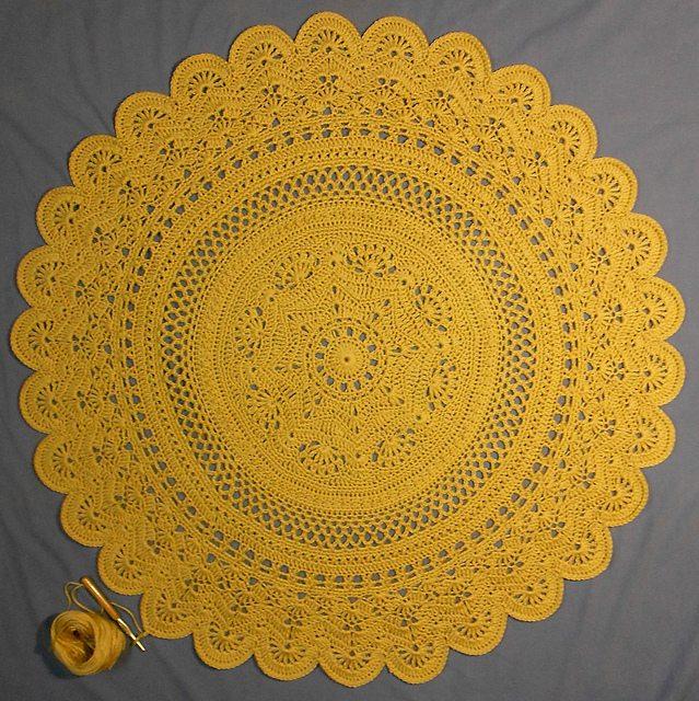 crochet circle free pattern