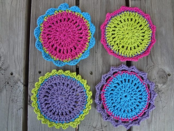Crochet Circle Pattern Crochet Circle Pattern From