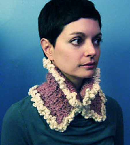 crochet collar free pattern