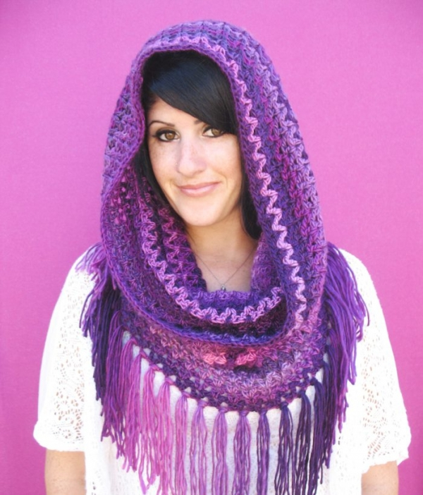 Free Cowl Pattern To Crochet : 21 Wonderful Crochet Cowl and Crochet Scarf Patterns