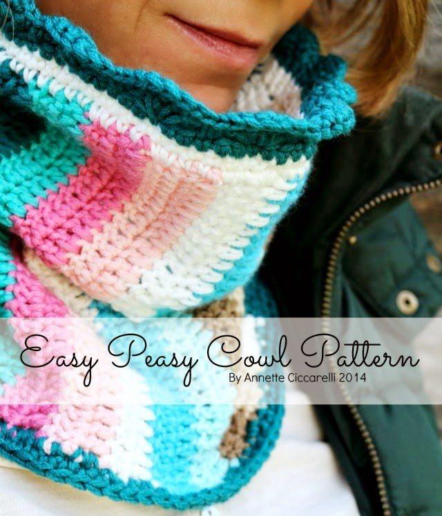 Free Crochet Pattern For Easy Cowl : crochet cowl pattern