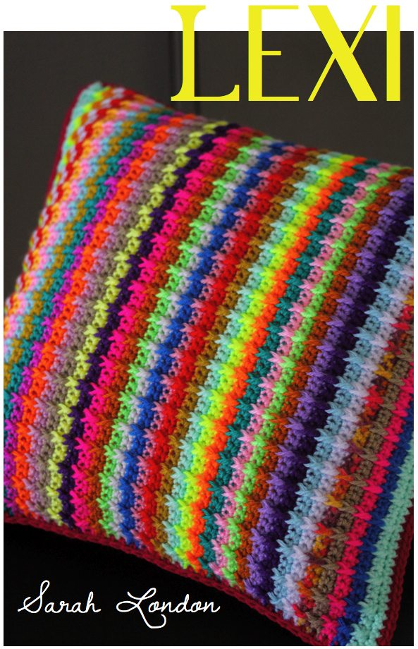 crochet cushion pattern