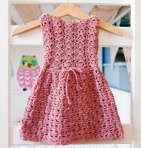 Crochet Stitches For Dresses : ... Excellent Crochet Clothing Patterns: Skirts, Dresses, Tops and More