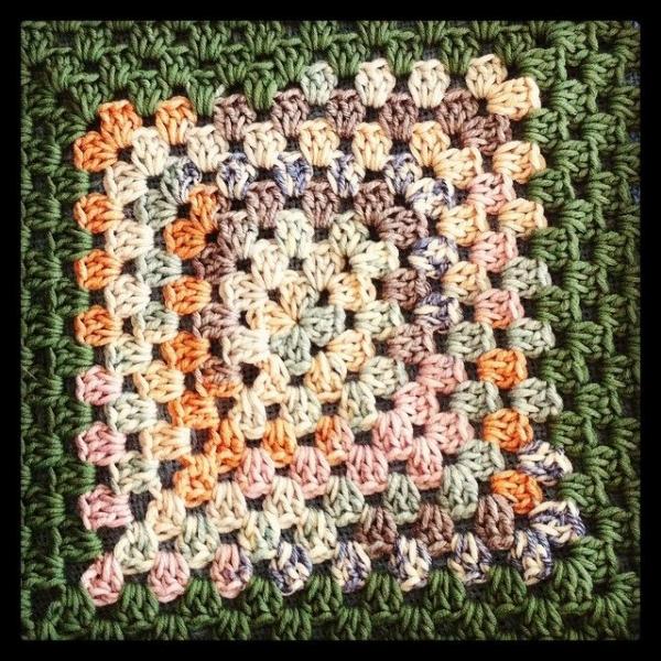 crochet granny square instagram