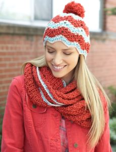 crochet hat and cowl free pattern