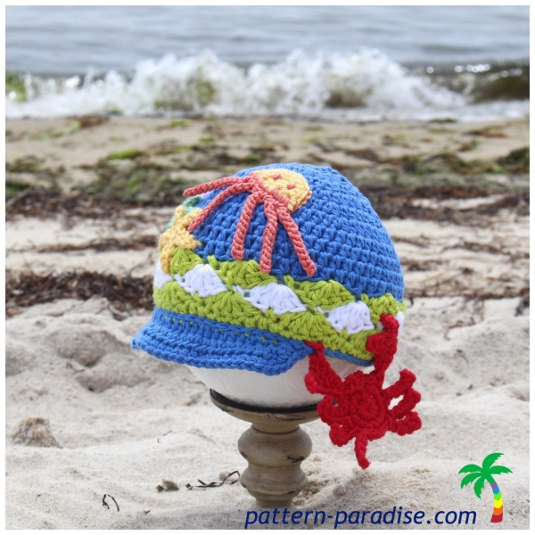 crochet summer hat free pattern
