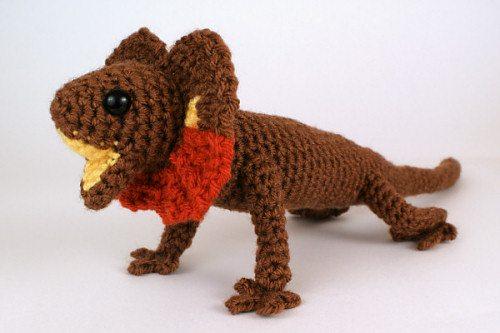 lizard crochet pattern