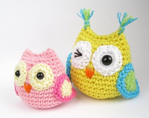 crochet owls pattern