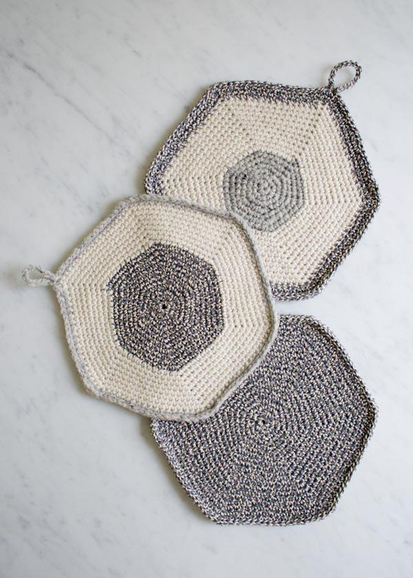 crochet potholders free pattern