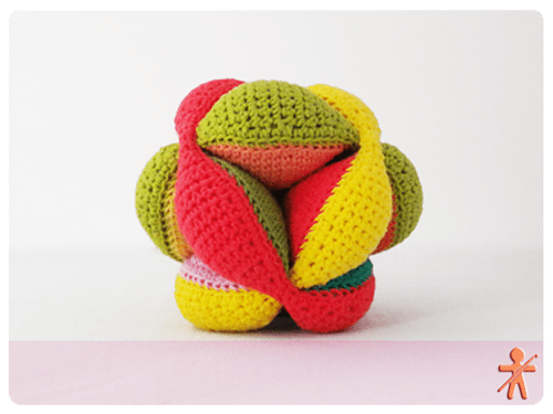 crochet puzzle ball pattern