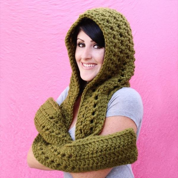crochet scoodie pattern